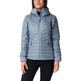 Columbia Windgates Chaqueta con capucha Mujer, tradewinds grey heather